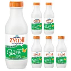 Parmalat Zymil Latte Benefit Fibre 6 bottiglie da 1 litro ciascuna