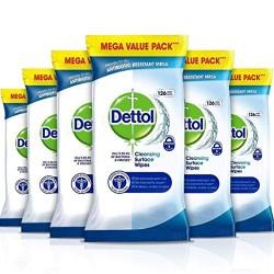 Dettol Salviettine Igienizzanti Antibatteriche Per Superfici 756 Pezzi