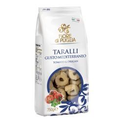 FIORE DI PUGLIA TARALLI MEDITERRANEO GR.250