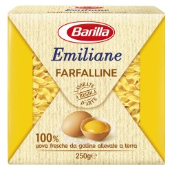 BARILLA Emiliane Farfalline All'Uovo 275 Grammi