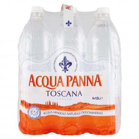 PANNA MINERAL WATER LT. 1.5 BOX OF 6 BOTTLES