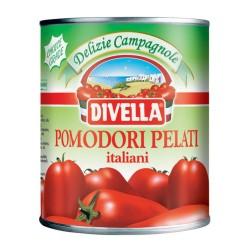 DIVELLA  POMODORI PELATI ITALIANI GRAMMI 800