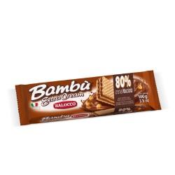 BALOCCO BAMBU' EXTRA CREAM NOCCIOLA 100 GR.