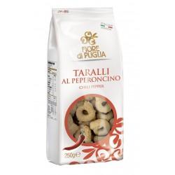 FIORE DI PUGLIA TARALLI PEPERONCINO GR.500
