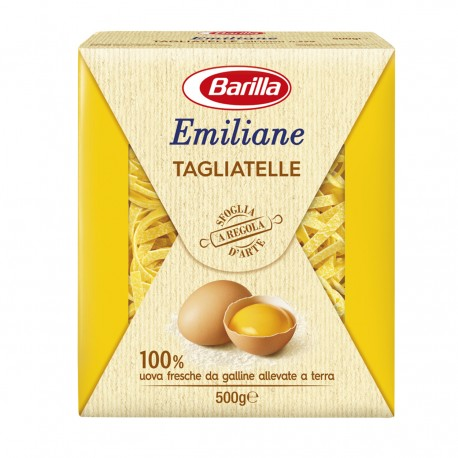BARILLA Emiliane Tagliatelle All'uovo 500 Grammi