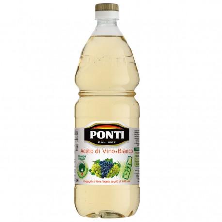 Ponti White Wine Classic Vinegar 1 Liter Bottle