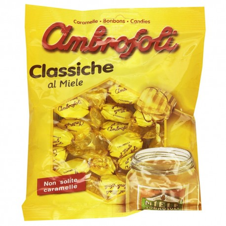 AMBROSOLI Candy Classic Taste Honey Package In Bag From 135 grams