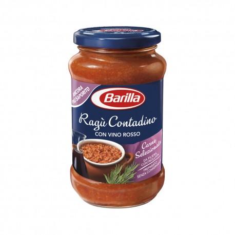 Multipack da 6 Confezioni di Ragu' Contadino con Vino Rosso Barilla 400 Grammi Ciascuna