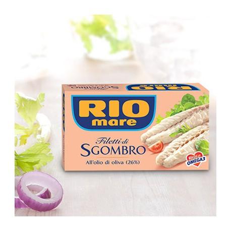Rio Mare Filetti di Sgombro in Olio d'Oliva Grammi 125
