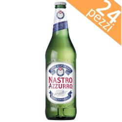 Nastro Azzurro Beer 33 cl Box of 24 Bottles