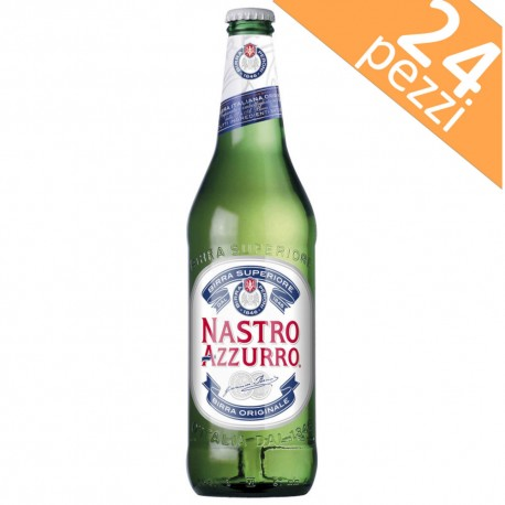 Nastro Azzurro Beer 33 cl Box of 24 Bottles