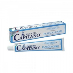 Toothpaste Plate&Caries Pasta del Capitano  Pack of 75 milliliters