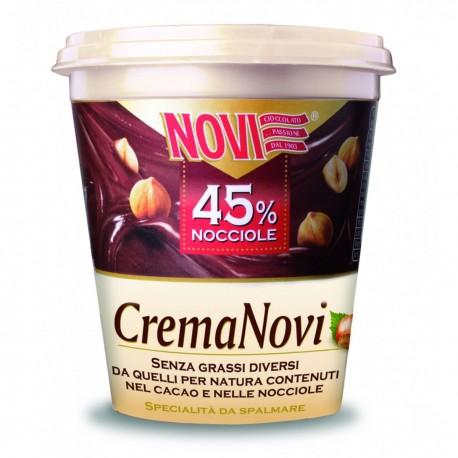 NOVI CREMA SPALMABILE 45% NOCCIOLE GR.200