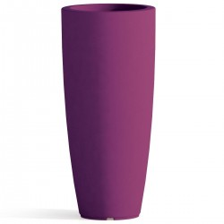 VASO STILO ROUND MONACIS COLORE PURPLE H CM 90