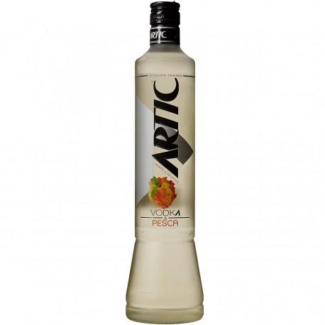 ARTIC Vodka Alla Pesca Confezione In Bottiglia Di Vetro Da 700 ml