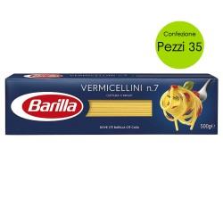 Multipack 35 Pezzi Barilla Vermicellini n 7 Pasta Italiana 500 grammi Cad