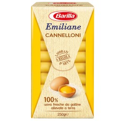 BARILLA Emiliane Cannelloni All'Uovo 250 Grammi