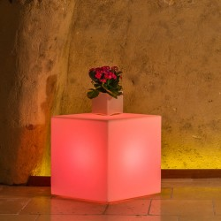 MONACIS YOUCUBE BRIGHT RED LUMINOSO 40 X 40 X 40 CM