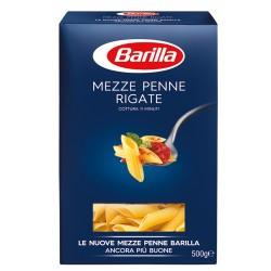 BARILLA Mezze Penne Rigate N. 70 Cottura 11 Minuti Classici 500 Grammi