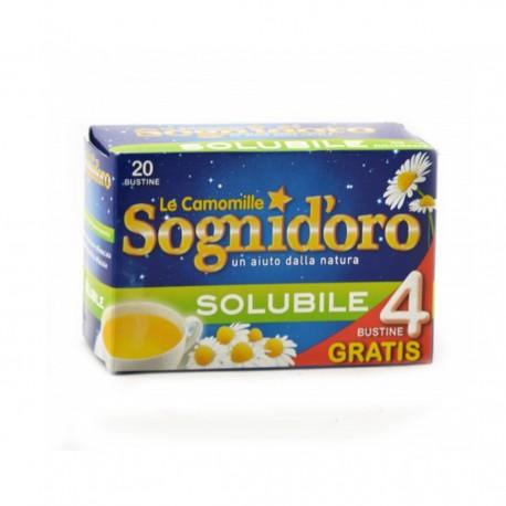 LE CAMOMILLE SOGNI D'ORO SOLUBILE DA 100 G 20 BUSTINE