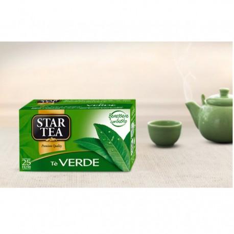 STAR TEA LINEA VERDE 25 FILTRI X 1,6G STAR