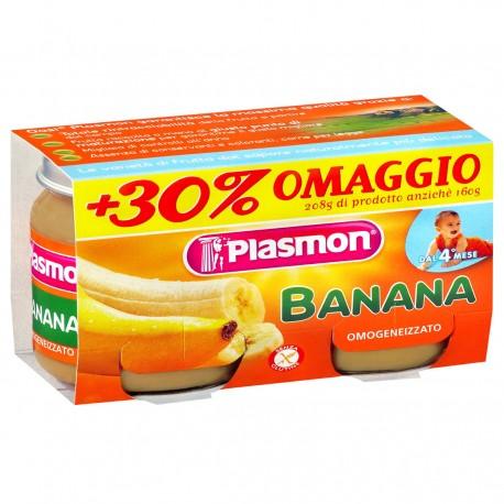 OMOGENEIZZATO AL GUSTO BANANA 2X104G PLASMON