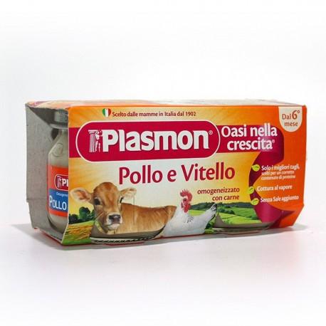OMOGENEIZZATO DI POLLO E VITELLO 2X80G PLASMON