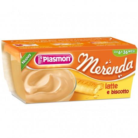 MERENDA LATTE E BISCOTTO 2X120G PLASMON
