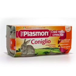 PLASMON HOMOGENIZED MEAT GR.80x2 RABBIT