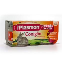 PLASMON OMOGENEIZZATO CARNE GR.80x2 CONIGLIO