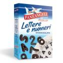 Paneangeli lettere e numeri al cioccolato 60g