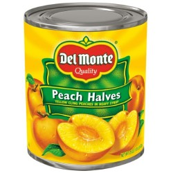 DEL MONTE Peaches in Syrup 825 Grams