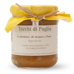 Confettura di Arance e Noci Tocchi di Puglia in Vasetto da 260 grammi
