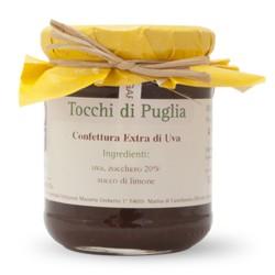Confettura Extra di Uva Tocchi di Puglia in Vasetto da 260 grammi