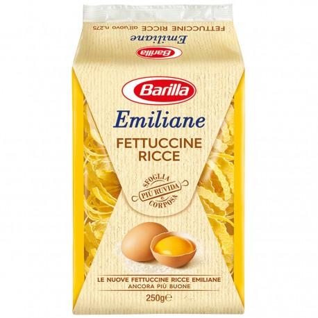 BARILLA Emiliane Fettuccine Ricce All'uovo 250 Grammi