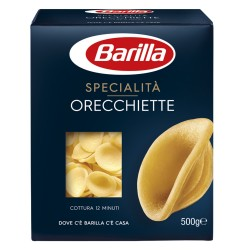 BARILLA Le Specialita' Orecchiette Pugliesi Cottura 12 Minuti 500 Grammi