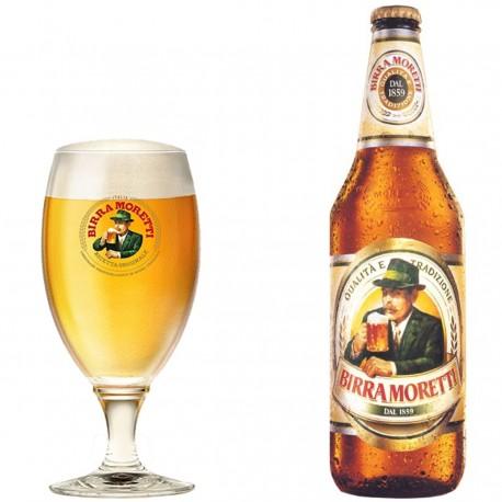 BIRRA MORETTI CLASSICA CL33X24PZ GRADAZIONE ALCOLICA 4.6%