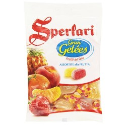 SPERLARI GRAN jellies Candy Fruit Of The Sun At Taste Assorted Fruit Pack of 175 Grams
