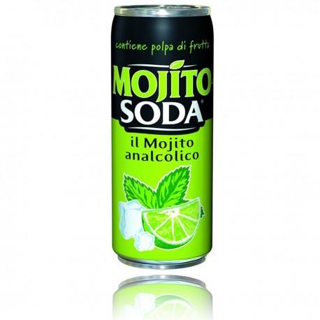 MOJITO SODA 24 LATTINE DA 33 CL