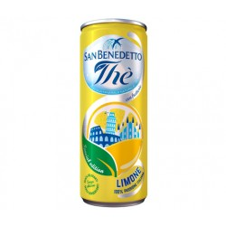 SAN BENEDETTO THE LIMONE 24 LATTINE DA 33 CL