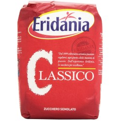 Granulated Sugar Eridania Classic White Pack of 1 Kilogram