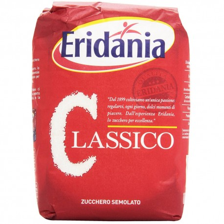Granulated Sugar Eridania Classic White Pack of 1 Kilogram