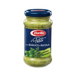 Barilla Pesto con Basilico e Rucola Confezione da 190 Grammi