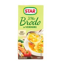 STAR Il Mio Brodo Star Verdure Senza Conservanti Senza Gluttamato Confezione da 1 Litro