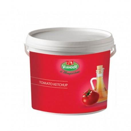 VIANDER Ketchup Confezione In Secchio Da 5 Chilogrammi