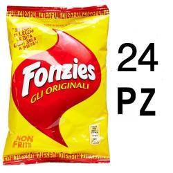 FONZIES Gli Originali 24 Sacchetti da 100 Grammi Ciascuno Snacks