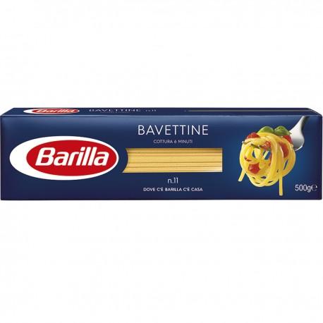 BARILLA I Classici Bavettine N.11 500 Grammi Cottura 6 Minuti