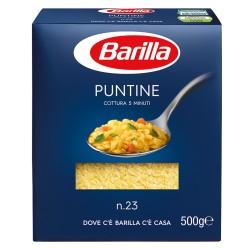 BARILLA Puntine N. 23 Cottura 6 Minuti 500 Grammi