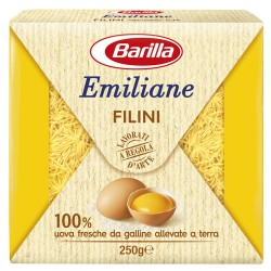 BARILLA Emiliane Filini All'Uovo 250 Grammi