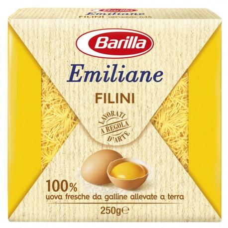 BARILLA Emiliane Filini All'Uovo 250 Grammi